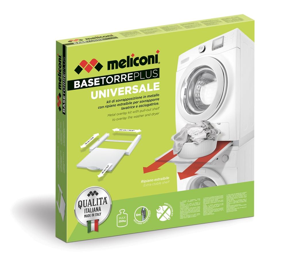 Kit Sovrapposizione Universale per Asciugatrice e Lavatrice MELICONI TORRE PLUS